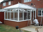 Dover Builders banner - conservatory